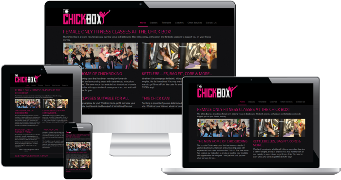 Screenshot of The ChickBox project